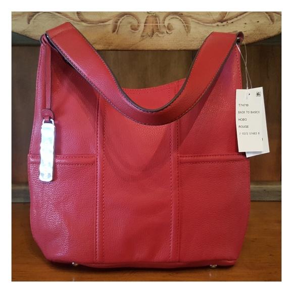 ef3feefef3b3 Red Tignanello Handbag
